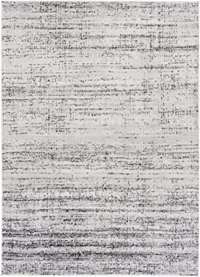 "Arturo Light Gray Modern Area Rug 5'3"" x 7'3"""