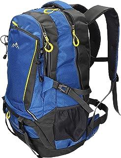 Mochila Unisex para Viaje Senderismo Camping Tiempo Libre Capacity I con 4 Bolsillos Volumen de 33 litros Color Azul