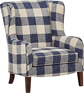wingback reading chair