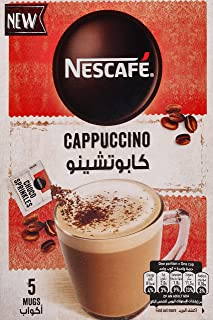 قهوة خليط كابتشينو رغوي برشات الشوكولاته من نسكافيه 19.3 غرام (5 اكياس)