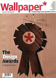 Wallpaper Magazine January / February 2005: The Design Awards Inaugural Issue