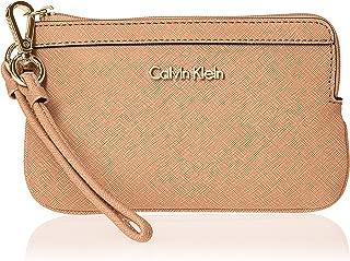 Calvin Klein Women's Saffiano Wristlet