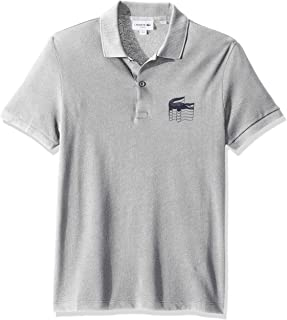 6da4899f Lacoste Men's S/S Graphic Croc Petit Pique Polo Slim Fit