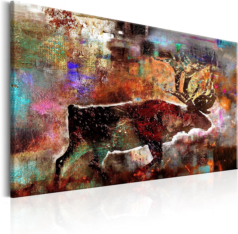 Murando Murando Murando - Bilder 120x80 cm Vlies Leinwandbild 1 TLG Kunstdruck modern Wandbilder XXL Wanddekoration Design Wand Bild - Elch Abstrakt Karibu Tier g-A-0119-b-b B06XWFPKJH 8e4ce0