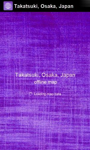 『大阪府高槻市、日本 オフライン地図 - Smart Sulutions』の2枚目の画像
