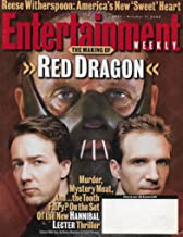 Entertainment Weekly Magazine - October 11, 2002 - Anthony Hopkins, Edward Norton & Liam Neeson (Red Dragon)