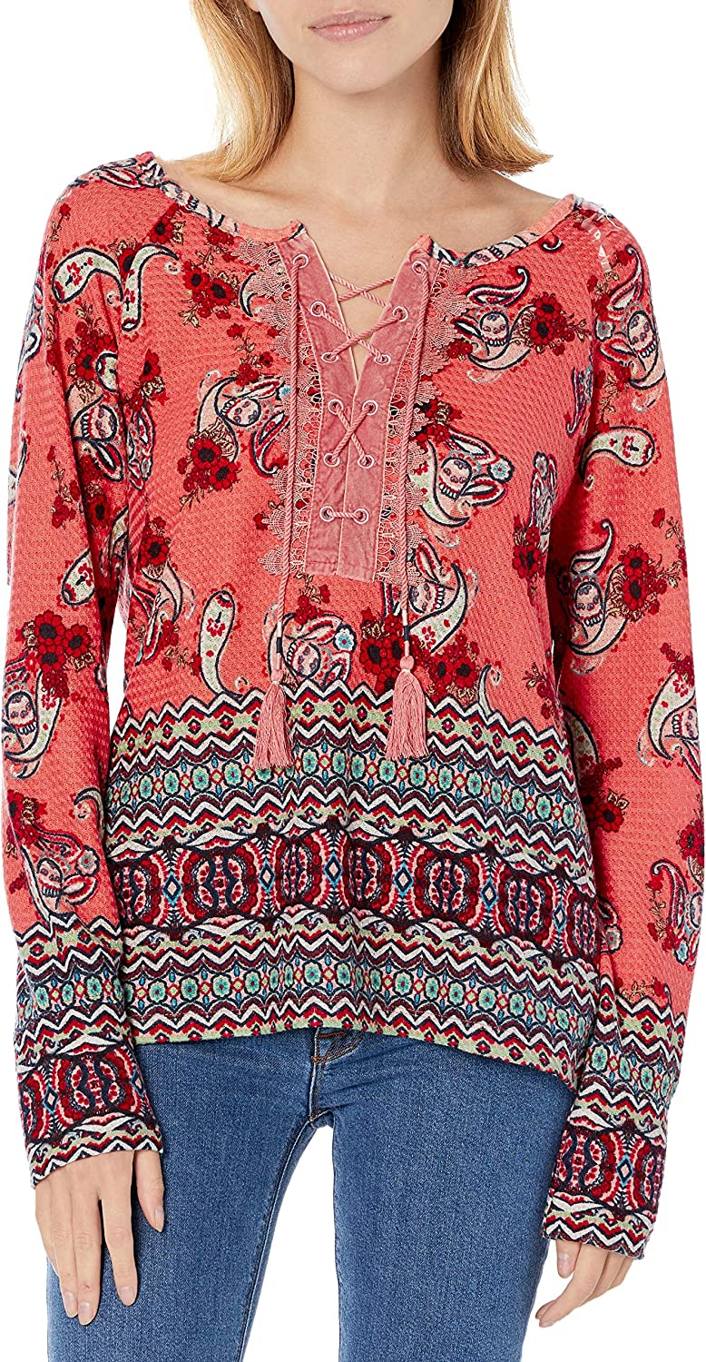 Vintage America Blues Max 87% OFF Women's Lara Long Lace Blouse Up Max 71% OFF Sleeve