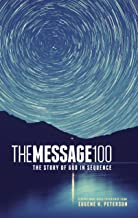 The Message 100 Devotional Bible (Hardcover, Starry Night): The Story of God in Sequence