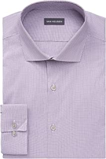 قميص رجالي من Van Heusen مقاس رفيع مقاوم للبقع وقابل للتمدد