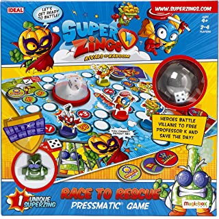 John Adams 10749 SuperZings Race to Rescue Pressmatic Game,