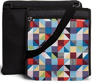 Skip Hop Central Park Outdoor Blanket & Cooler Bag, Prism, Multi