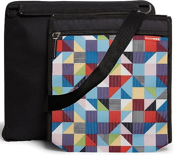 Skip Hop Central Park Outdoor Blanket Cooler Bag Prism Multi