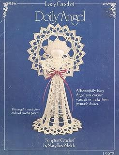 Lacy Crochet Doily Angel (Sculpture Crochet)
