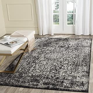 Safavieh Evoke Collection EVK256R Vintage Oriental Black and Grey Area Rug (6'7