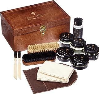 [ブートブラック] SHOECARE SET BALALAIKA BBバラライカ (木製箱(ナチュラル)木製箱+13点)
