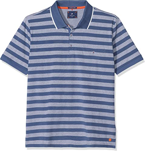 Pierre voituredin Poloshirt Premium Cotton Pique BiCouleur Streifen Airtouch Polo Homme