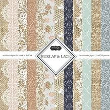 Best burlap lace paper Reviews