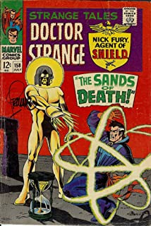 Autograph Strange Tales #158 Signed by Jim Steranko (Strange Tales Doctor Strange and Nick Fury, Agent of SHIELD)
