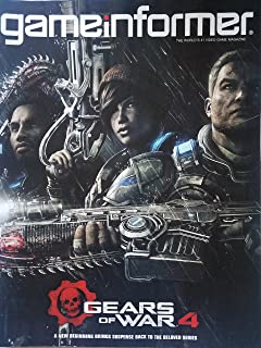 Game Informer no. 276, April 2016 - Gears of War 4: A New Beginning Brings Suspense Back to the Beloved Series/ Doom Co-creator John Romero Returns to Hell/ Afterwords: The Witness