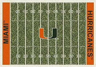 Miami Hurricanes Milliken NCAA Home Field Area Rug (3'10