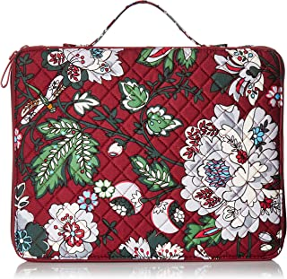 Vera Bradley womens 22624-L93 Iconic Tablet Tamer Organizer, Signature Cotton One Size
