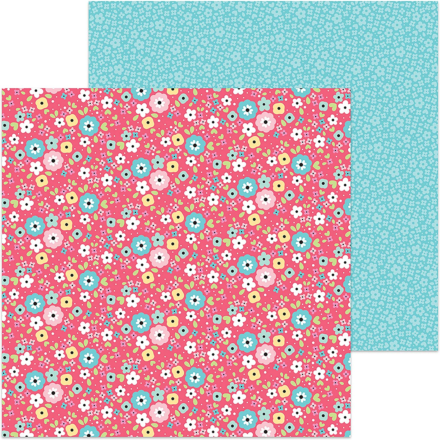 DOODLEBUG I'm I'm Daisy for You for You So So Punny Double-Sided Cardstock 12