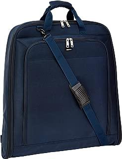 """AmazonBasics Premium XL Garment Bag, Navy Blue - 45"""""""