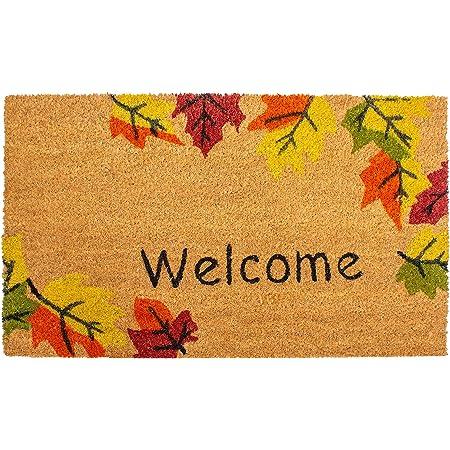 """Calloway Mills 120941729 Autumn Breeze Doormat, 17"""" x 29"""", Multicolor"""