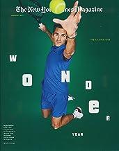 New York Times Magazine - August 27, 2017 - U. S. Open Issue - Wonder Year - Roger Federer cover