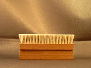 Wooden Goat Hair Anti Static Record Cleaning Brush Cleaner