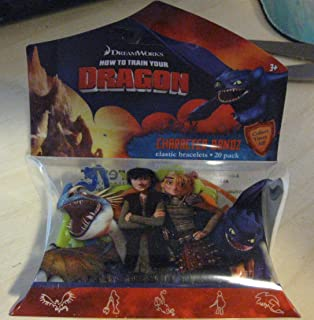 How To Train Your Dragon Character Bandz - 1 Pack of 20 Silly Bandz by DREAMWORKS