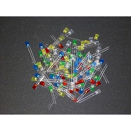 Sortimentkasten LED  5mm  und 3mm rot blau gelb grün weiß 100 Stück gesamt