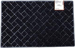 NICOMAN Felpudo con Forma Acolchada de Diamante, Antideslizante en Suelos Duros, para Uso en Interiores o Exteriores, 75 x...