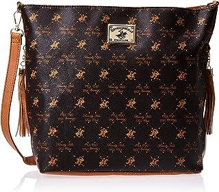 BHPC Womens Hobo Bag, BROWN - BHVA2880BN