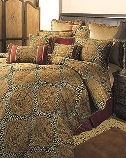 Sherry Kline Tangiers Comforter Set, King,Gold/Bronze, 4 Piece