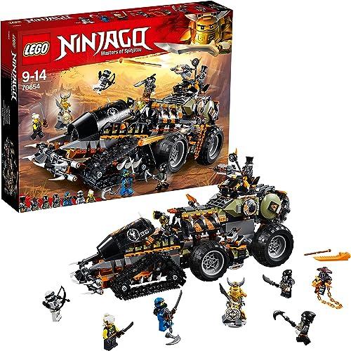 tiempo libre LEGO Ninjago - Dieselnauta, Juguete de Construcción de Aventuras Ninja, Ninja, Ninja, Incluye Vehículo y MiniFiguras (70654)  sin mínimo