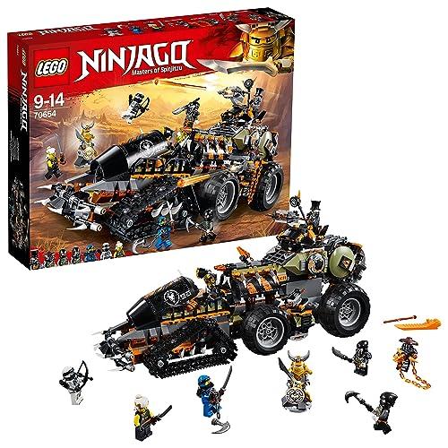 LEGO Ninjago - Le véhicule de combat Dieselnaut - 70654 - Jeu de Construction
