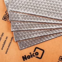Noico 80 mil 5 sqft Car Sound Deadening Mat, Butyl Automotive Sound Deadener, Audio Noise Insulation and Dampening
