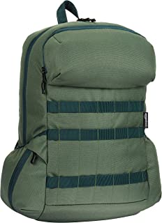 AmazonBasics Canvas Laptop Backpack Bag for up to 15 Inch Laptops - Forest Green
