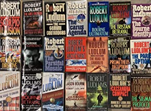 Robert Ludlum Action Thriller Novel Collection 21 Book Set