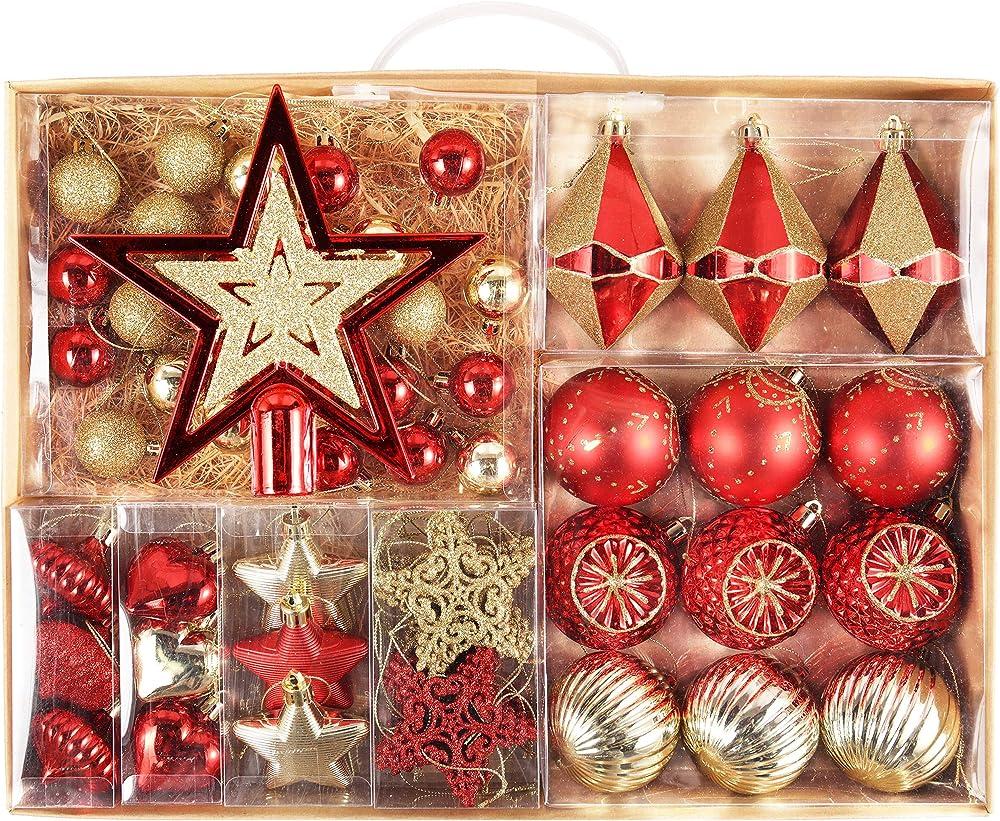 Valery madelyn addobbi natalizi 70 pezzi EG0101-0087