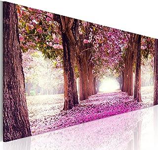 comprar comparacion murando Cuadro en Lienzo Bosque Flores 120x40 cm 1 Parte impresión en Material Tejido no Tejido Cuadro de Pared impresión ...