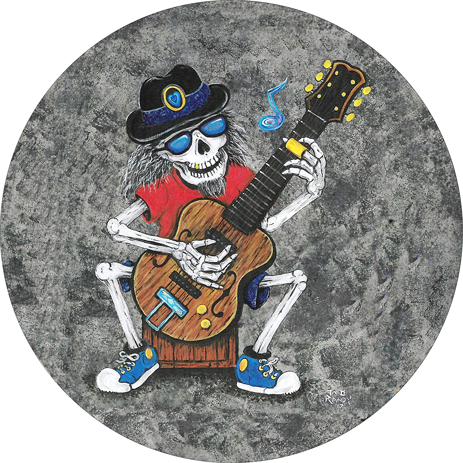 TIRE COVER CENTRAL Skelton Colorado Springs Mall Guitar Music Tire Sales of SALE items from new works Spare Wheel Cover