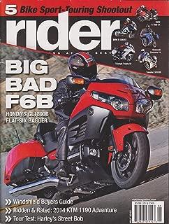 Rider Magazine May 213