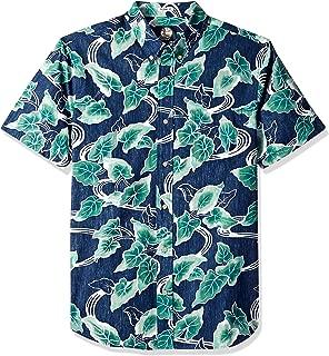 Reyn Spooner Men's Food & Wine Tailored Fit Hawaiian Shirt