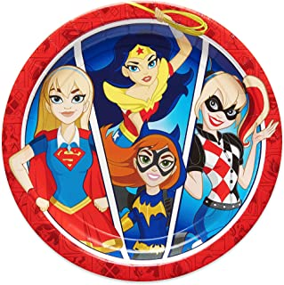 American Greetings DC Super Hero Girls Party Supplies, Paper Dinner Plates (8-Count)