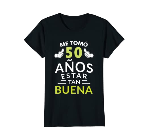 Womens Mujer Camiseta Cumpleanos 50 1968 50 Anos De Estar Tan Buena