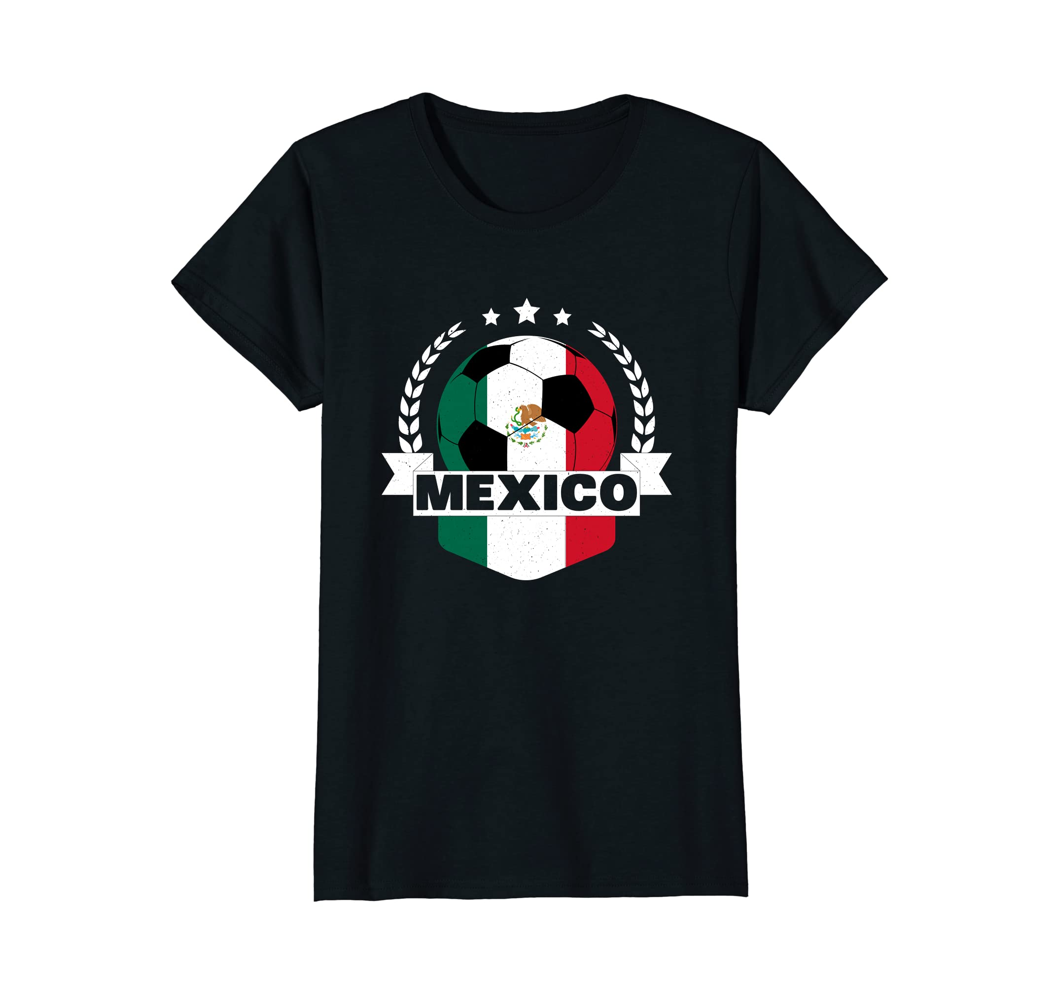 62c27dbf260 Amazon.com: Mexico Soccer Team 2018 Football Fan T-Shirt: Clothing