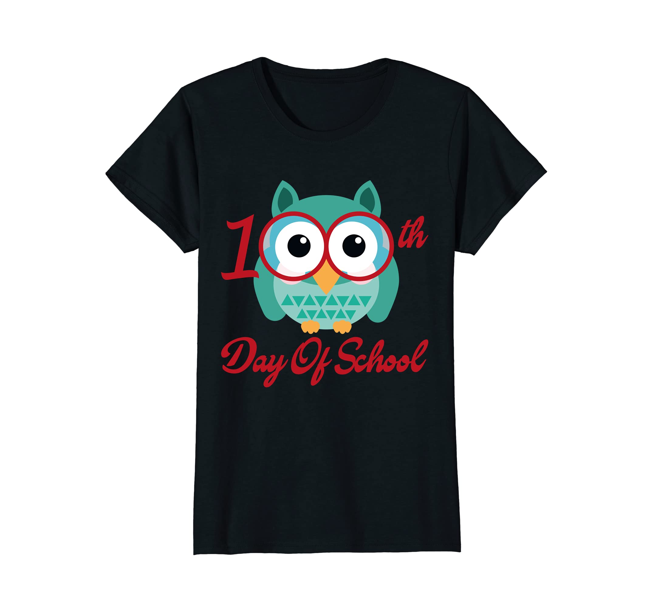 100th Day Of School T-shirt Cute Owl Tee
