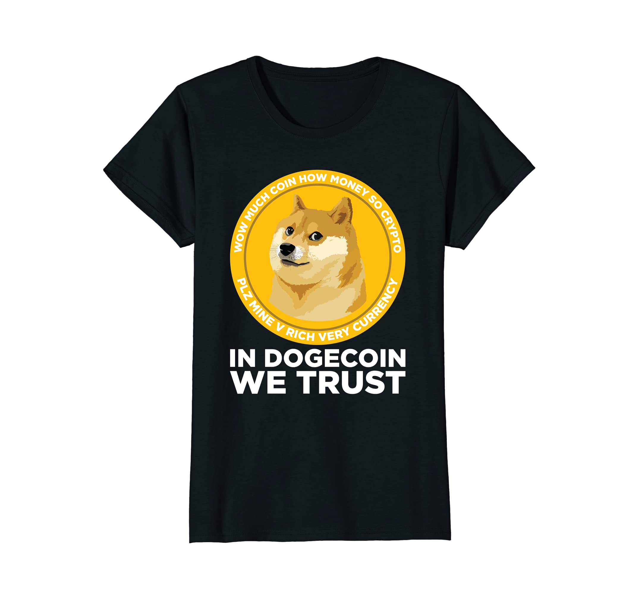 Amazon com: In Dogecoin We Trust- Blockchain Cryptocurrency